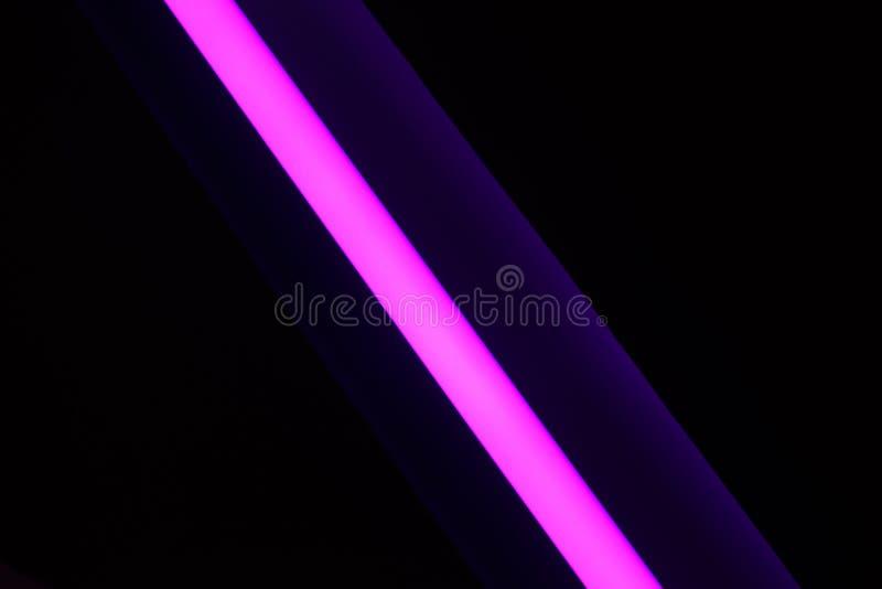 Une bande au néon rose photo libre de droits