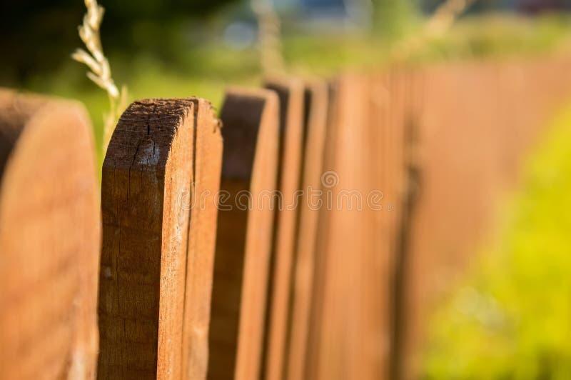 Une belle barrière de cru photo stock