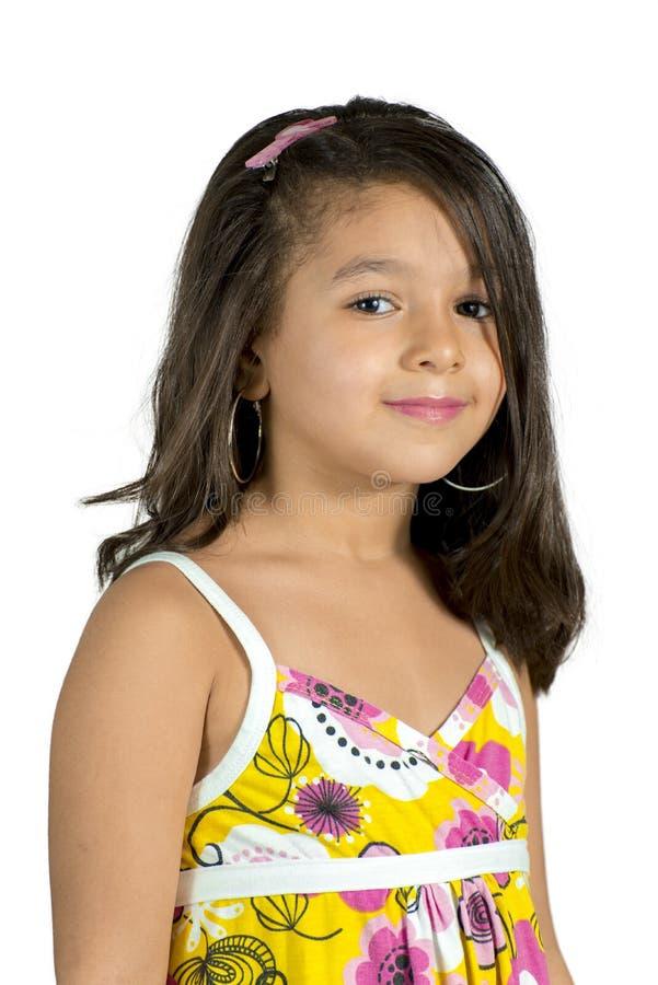 Une belle petite fille images libres de droits