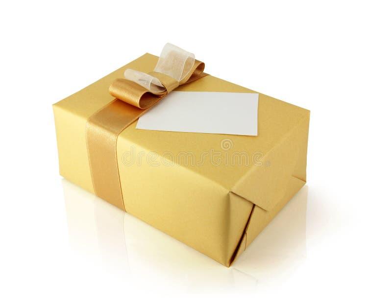 Une boîte de cadeau image stock