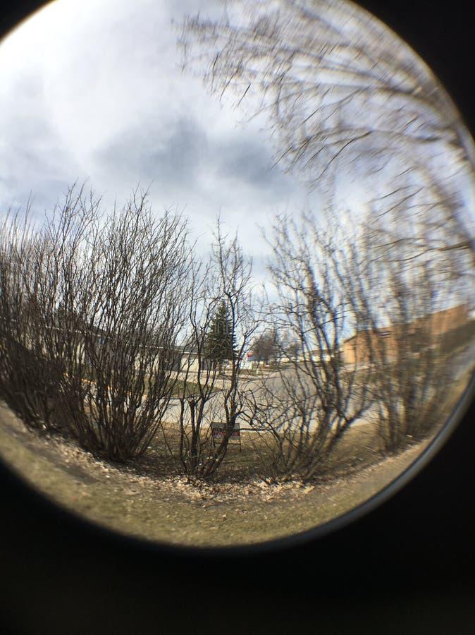 Une boule de cristal complètement de magie photographie stock