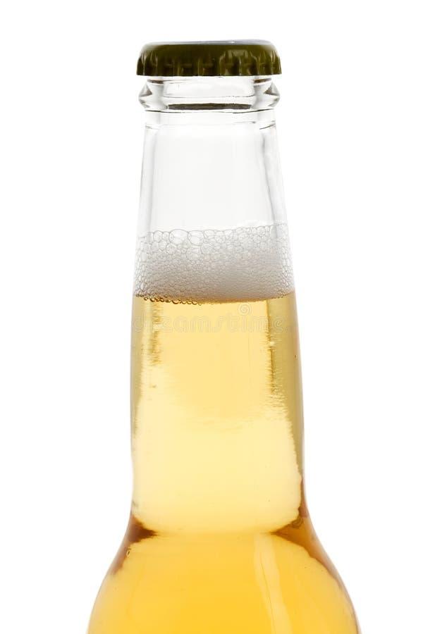 Une bouteille à bière images stock
