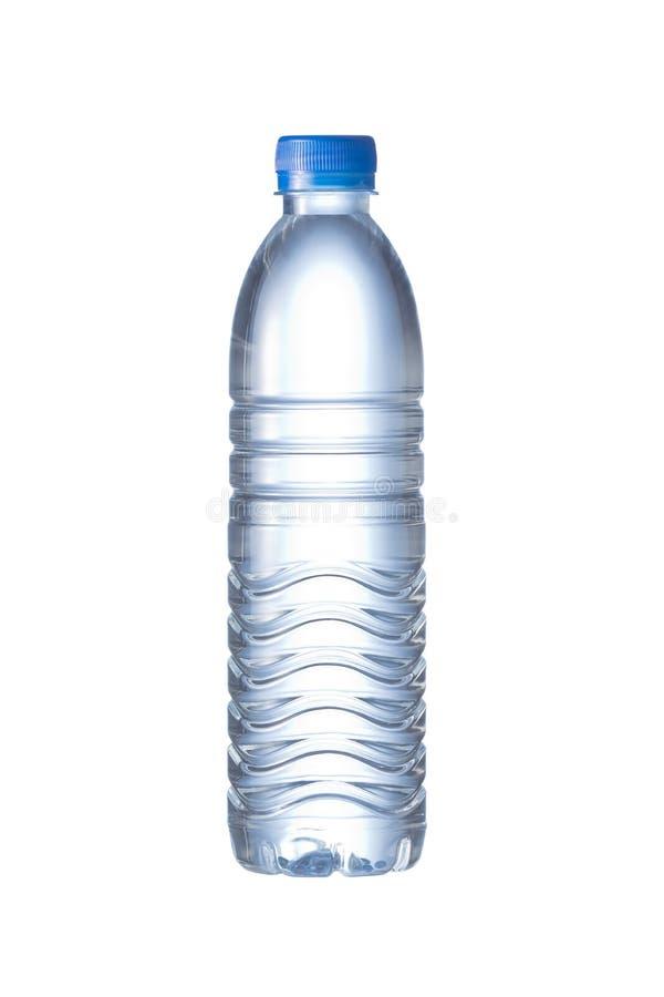 Une bouteille d'animal familier de l'eau image stock