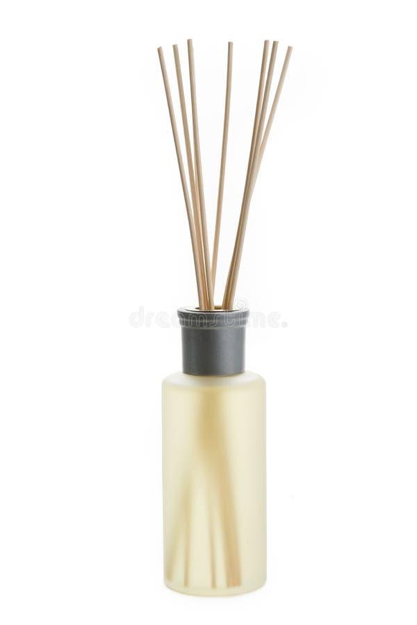 Une bouteille de parfum photos stock