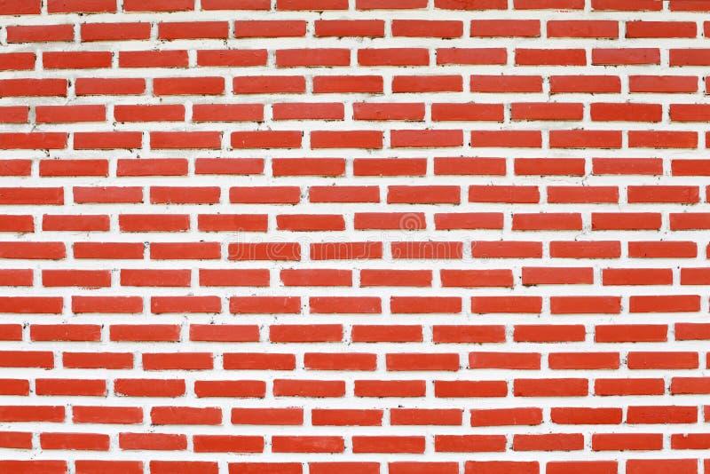 Une brique rouge de mur image libre de droits