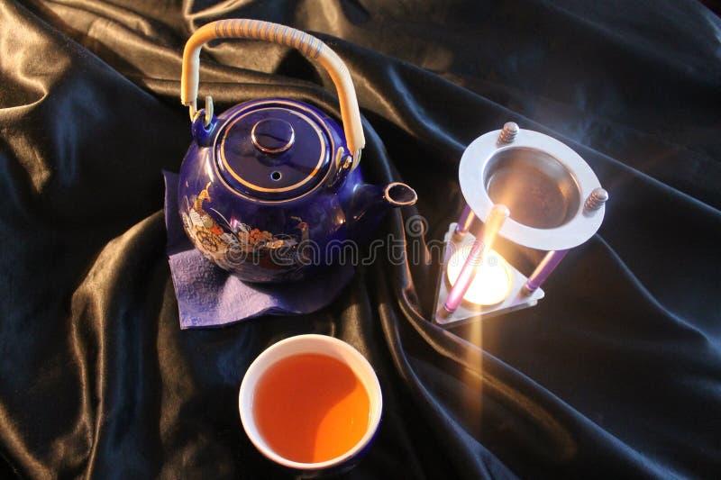 Une cérémonie de thé de Chineese photographie stock libre de droits