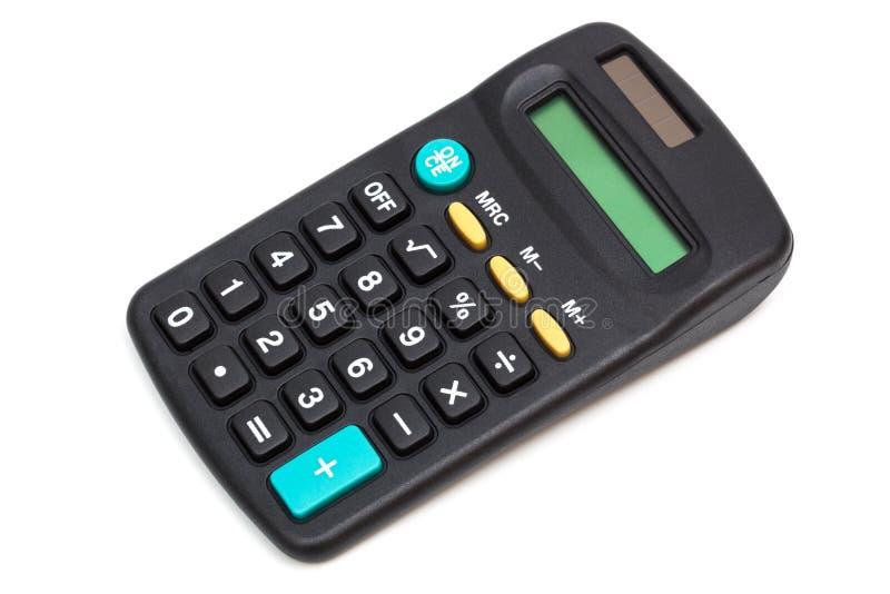 Une calculatrice moderne photo libre de droits