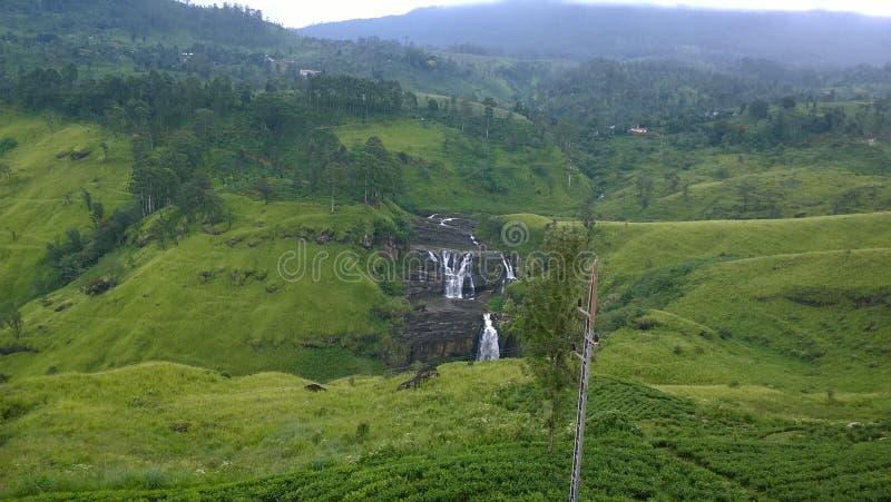 Une cascade sri-lankaise image libre de droits