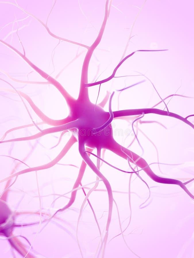 Une cellule nerveuse illustration stock