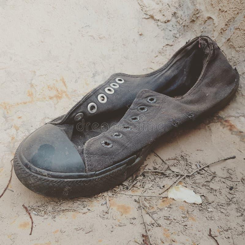 Une chaussure perdue photo libre de droits