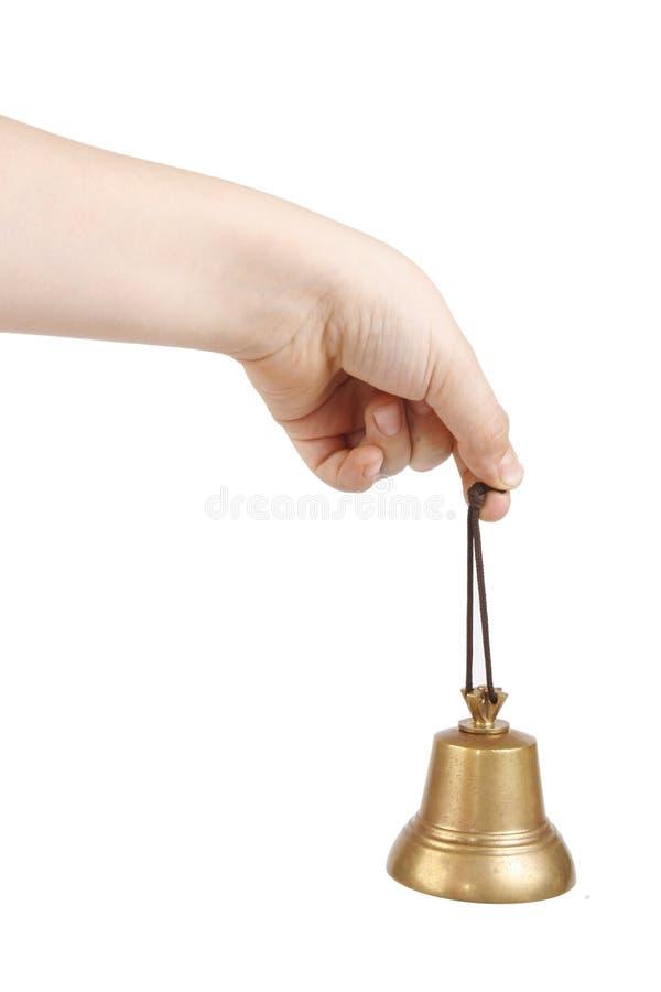 Une clochette antique image libre de droits