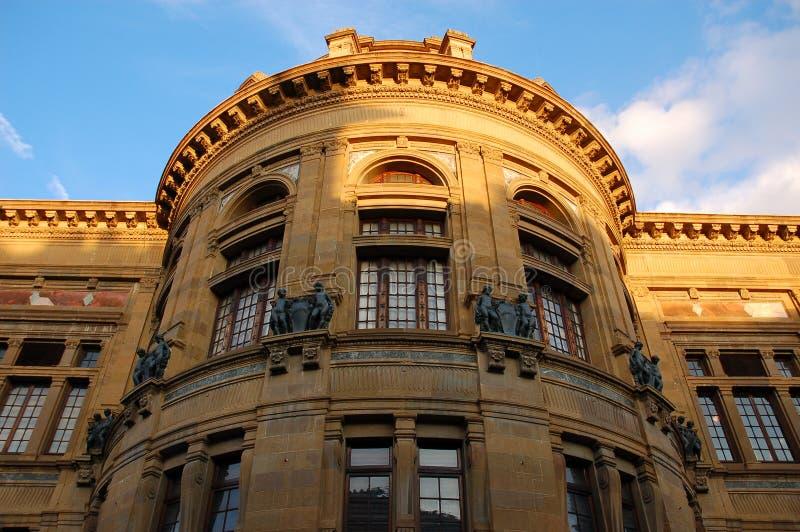 Une construction à Florence image libre de droits