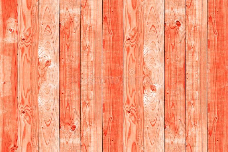 Une couleur en bois de corail de tendance photographie stock libre de droits