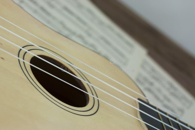 Une coupure de la musique images libres de droits