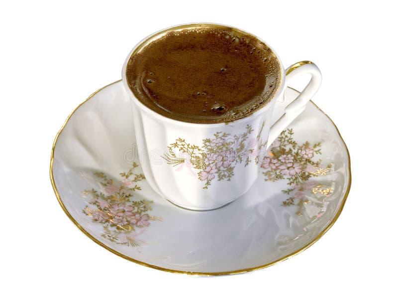 Une cuvette de café turc photographie stock libre de droits