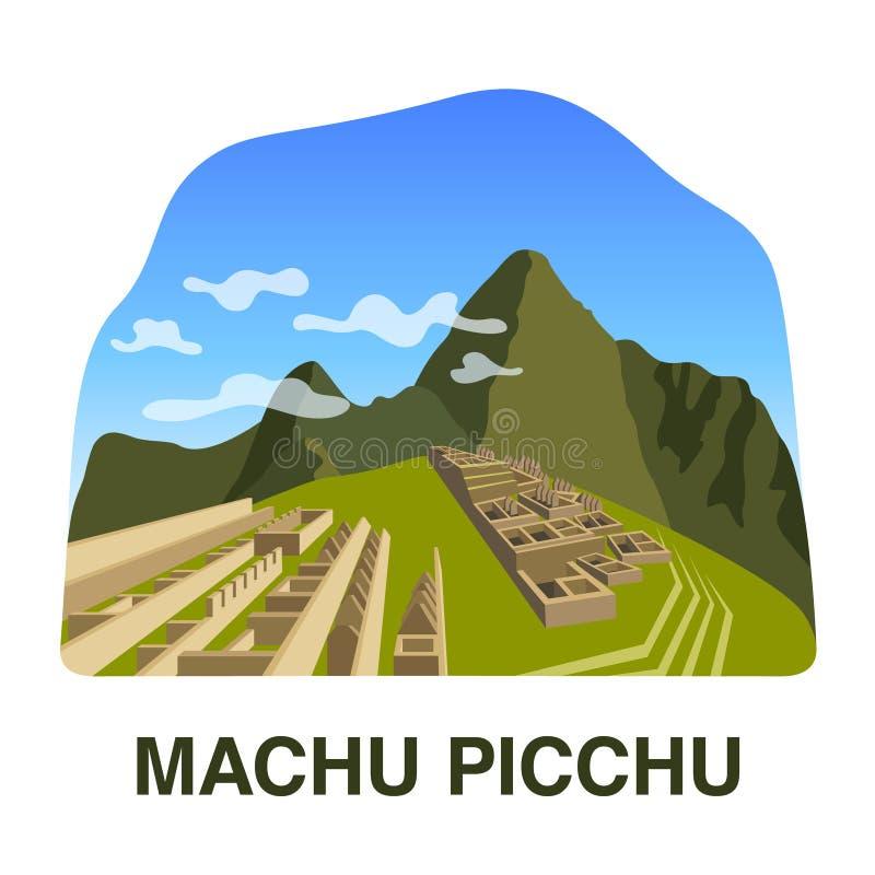 Une de nouvelles 7 merveilles du monde : Machu Picchu image stock
