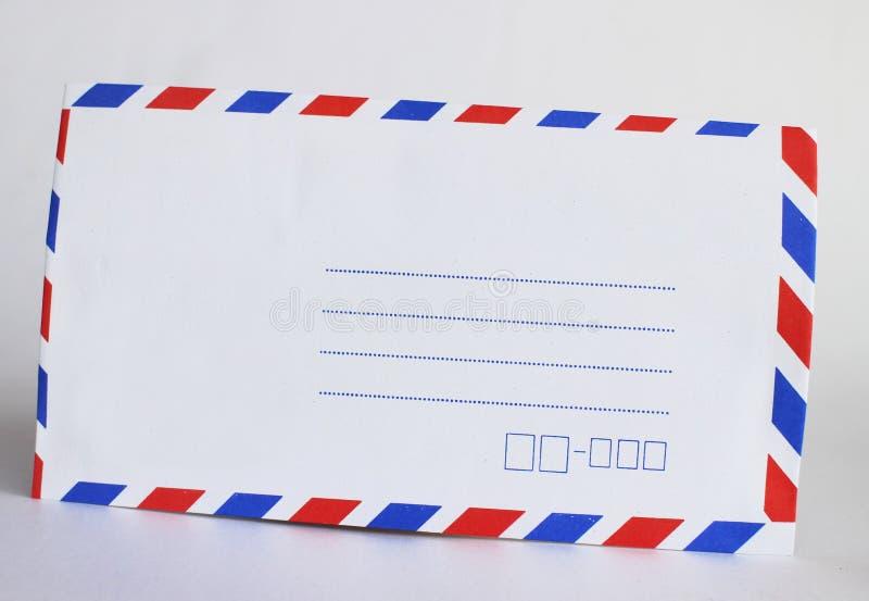 Une enveloppe photo stock