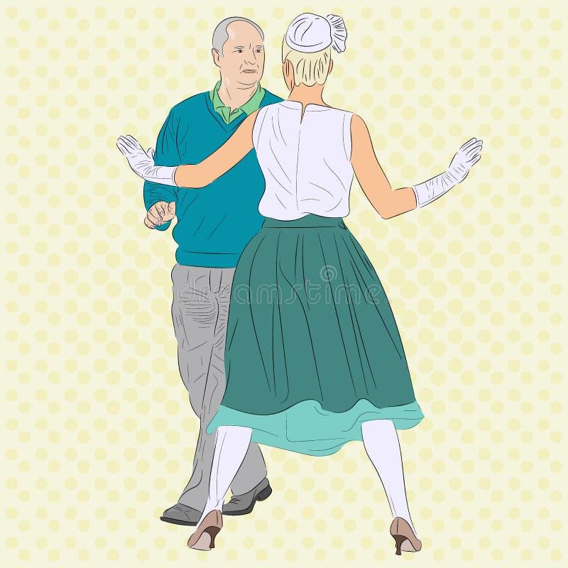 Une femme arrête un homme L'image conceptuelle pour le contexte de l'amour, j illustration stock