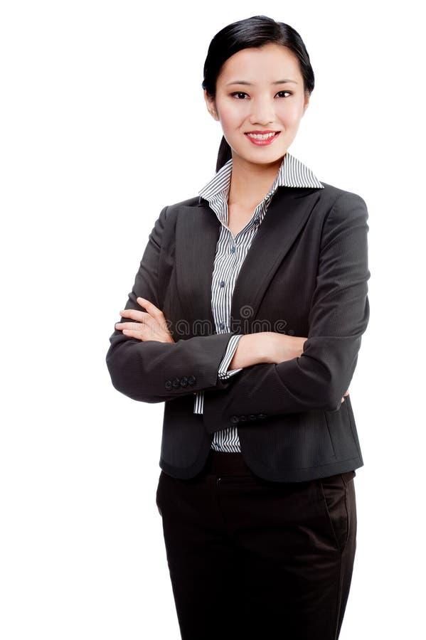 Une femme d'affaires attirante photos libres de droits