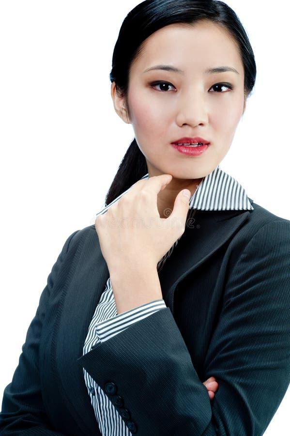Une femme d'affaires attirante photo libre de droits