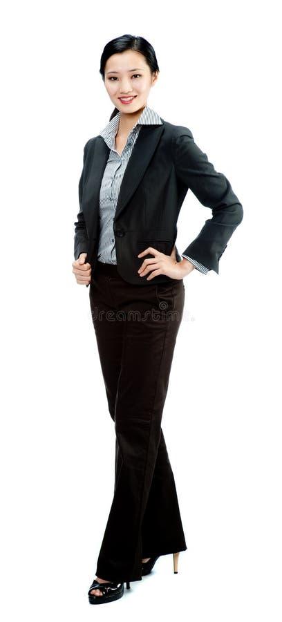 Une femme d'affaires attirante photographie stock libre de droits