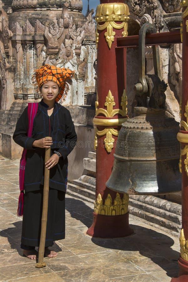 Temple bouddhiste de Kakku - l'État Shan - Myanmar photos libres de droits