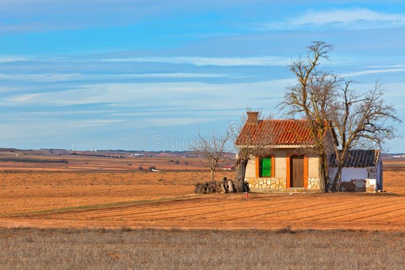 Une ferme espagnole images libres de droits