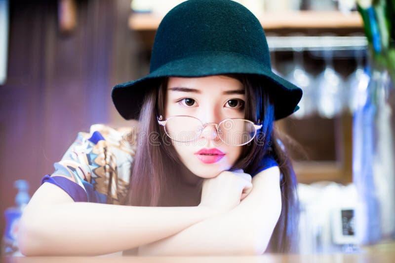 Une fille chinoise photo libre de droits