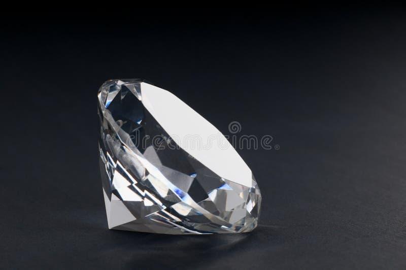 Une fin vers le haut d'un diamant photo libre de droits