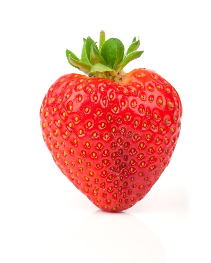 une fraise en forme de coeur photo stock image du sain valentine 37085950. Black Bedroom Furniture Sets. Home Design Ideas