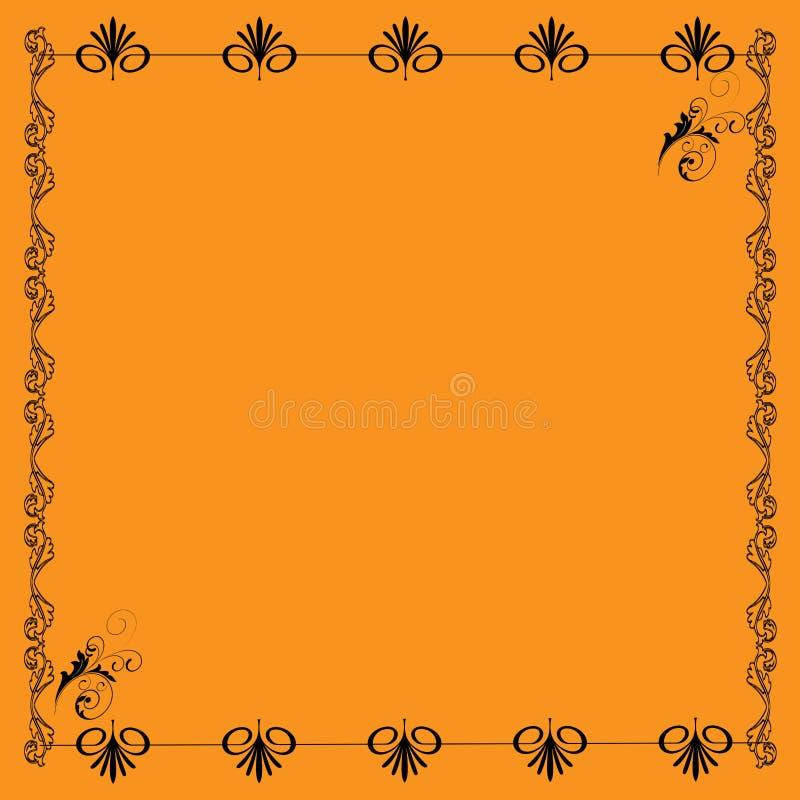 Une frontière/cadre mignons de page illustration de vecteur