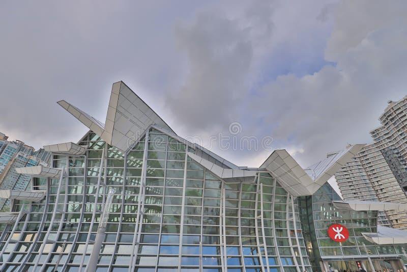 une gare ferroviaire occidentale de Kowloon au HK photo stock