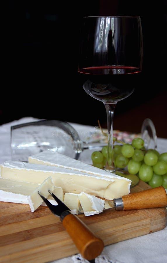 Une glace de vin rouge photo libre de droits
