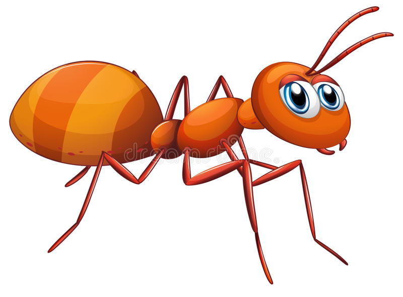Une grande fourmi illustration libre de droits