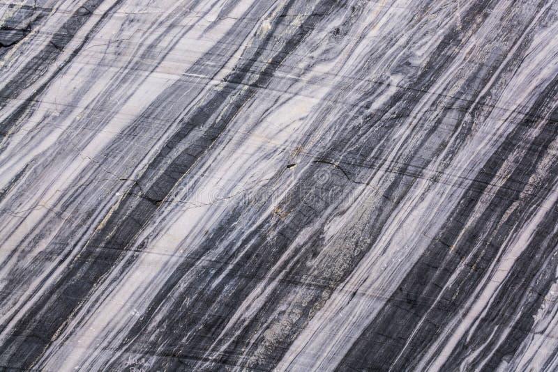 Une grande variété de modèles de marbre en nature image libre de droits