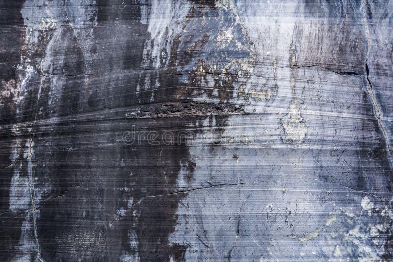 Une grande variété de modèles de marbre en nature images stock