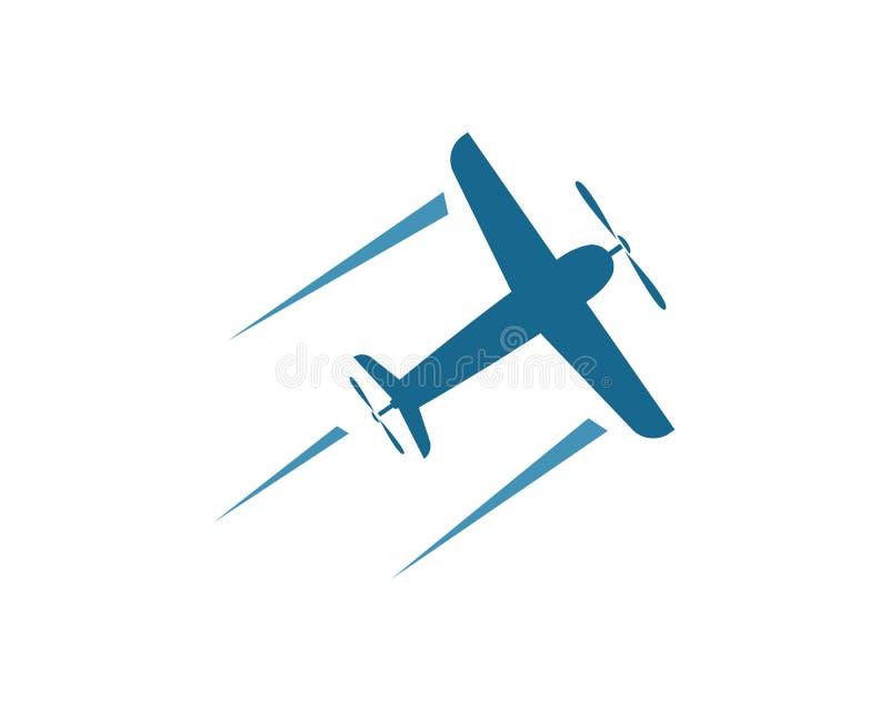 une icône plate plus rapide de vecteur de logo de conception exprès d'illustration de la livraison illustration stock