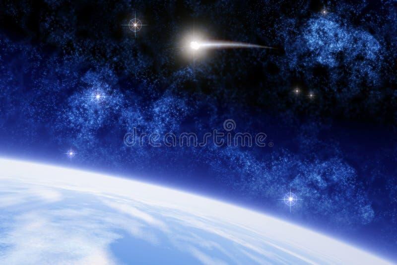 Comète Ison illustration de vecteur
