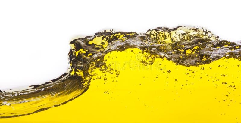 Une image abstraite d'huile renversée image libre de droits