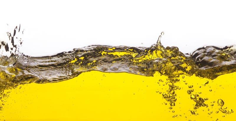Une image abstraite d'huile renversée photo libre de droits