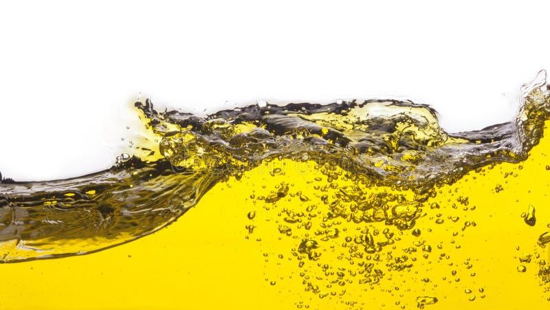 Une image abstraite d'huile renversée photos stock