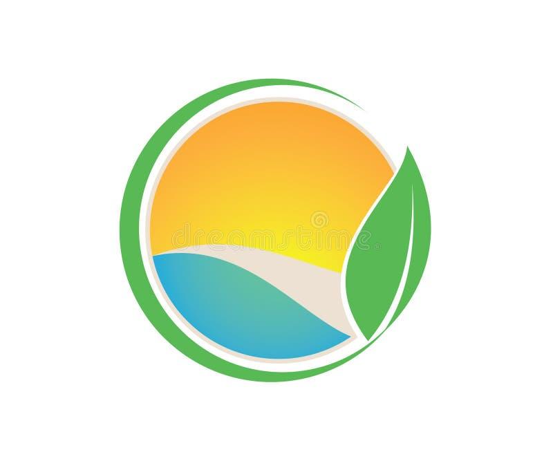 Une image 3d de belles feuilles dans la couleur douce illustration stock