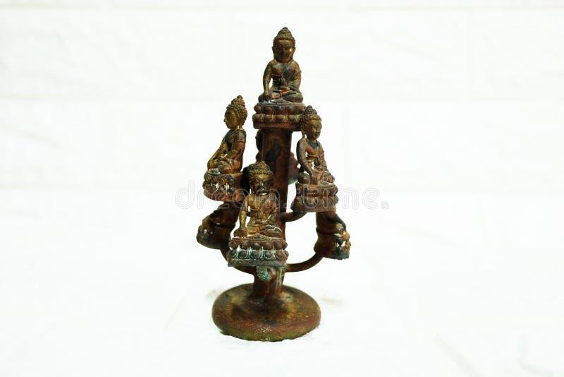 Une image de Bouddha en Thaïlande se réfère typiquement le métal image libre de droits