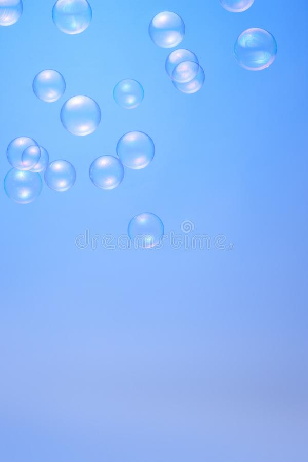 Une image de bulle de savon photos stock