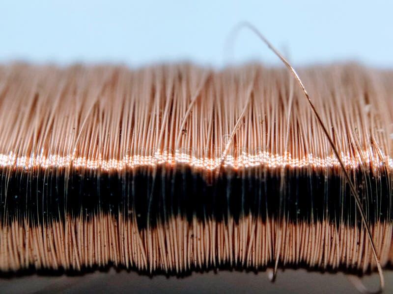 Une image de câblage cuivre image libre de droits