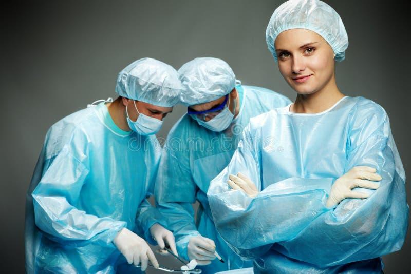 Une infirmière image stock