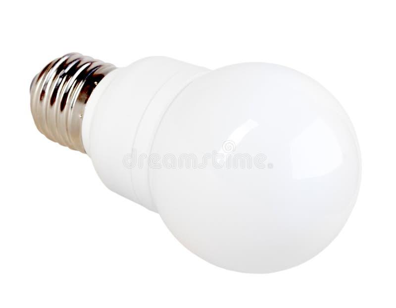 Lampe économiseuse d'énergie de LED images libres de droits