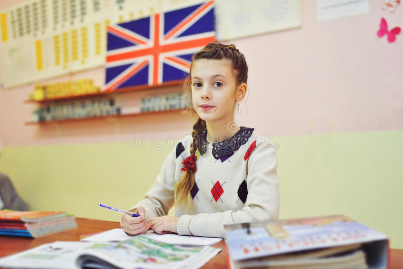 Une leçon anglaise photos libres de droits