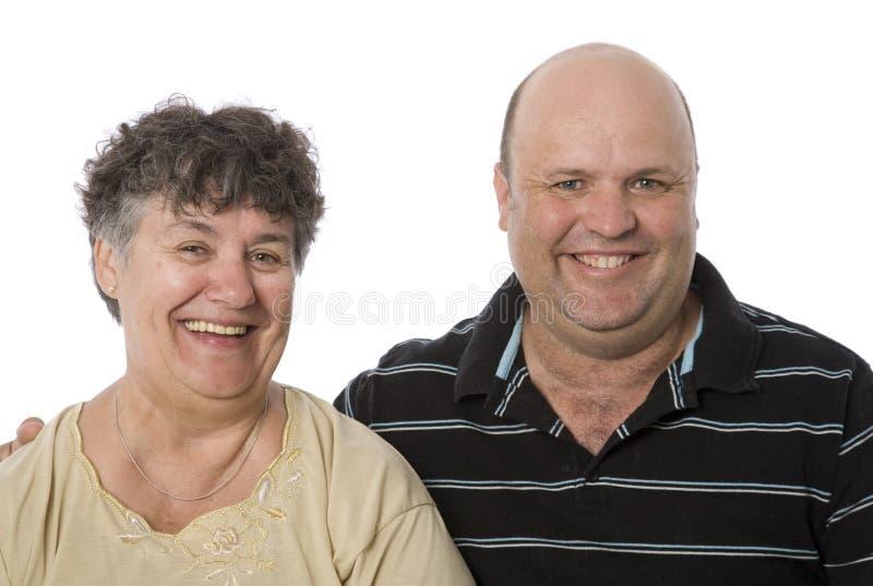 Une mère et un fils heureux photo libre de droits