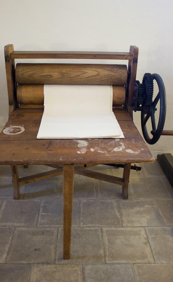 Une machine à laver 3 d'expert images libres de droits